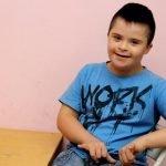 Down syndrome kid