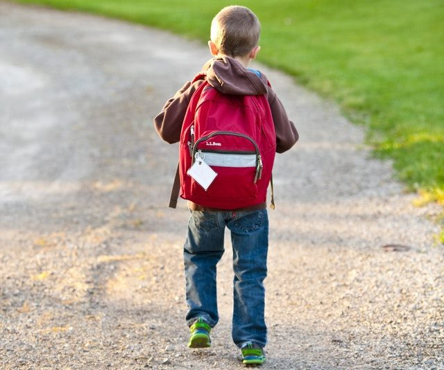 Back-to-school Kid