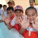 School children in Vietnam practice hand-washing amidst global Coronavirus outbreak