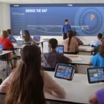 School classroom learning information and communication technology (ICT) tools
