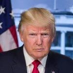President Donald Trump of U.S.