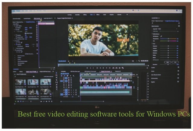 Best free video editing application software tools