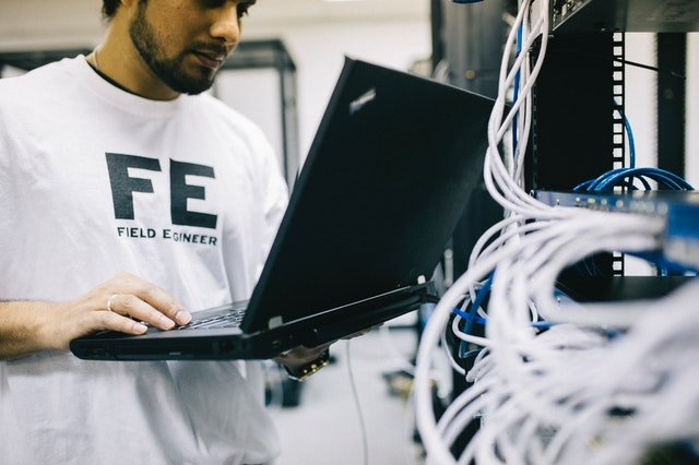 Computer technicians and IT specialists for repairs and maintenance