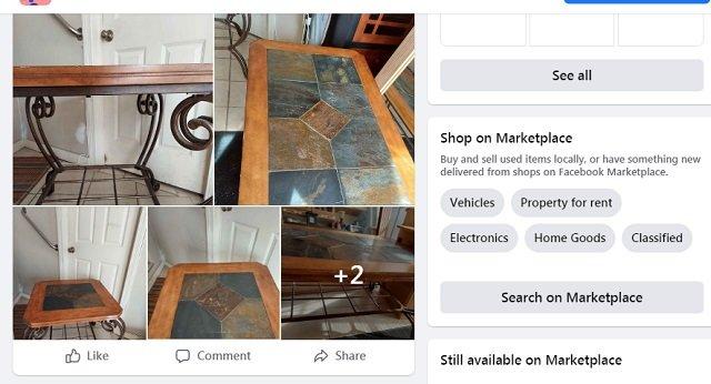 Facebook Marketplace Canada