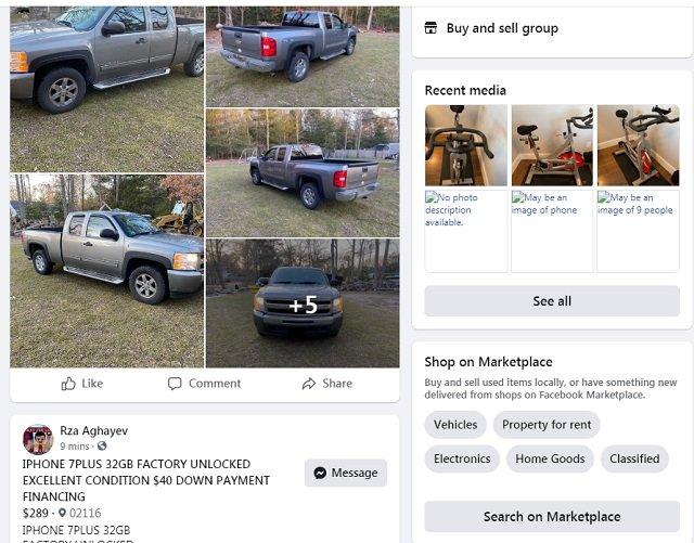 Facebook Marketplace Asheville North California