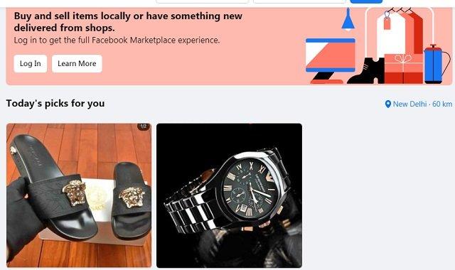 Facebook Marketplace India