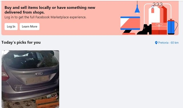 Facebook Marketplace South Africa