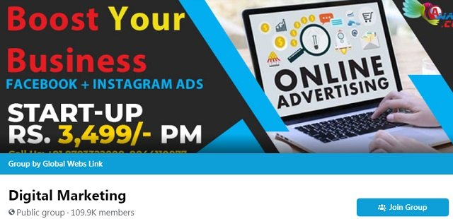 Digital Marketing Facebook Group