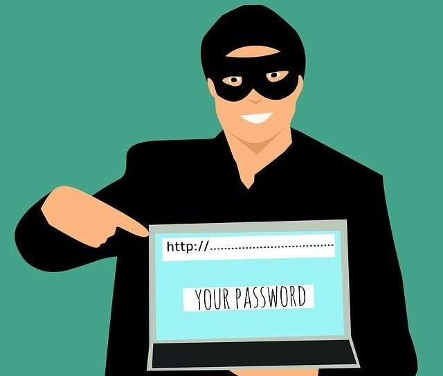 Password hacking is possible with searching yourself in an online search engine like Google search