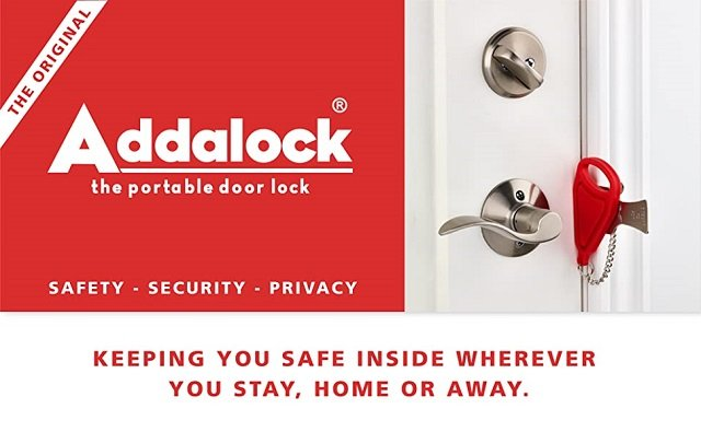 A top best-selling home security device that locks out intruders
