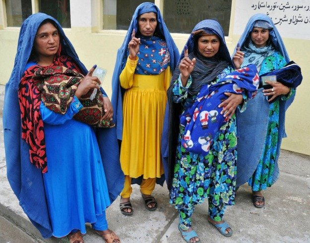 5 Empowered Afghan women & girls' groups at the risk of violence