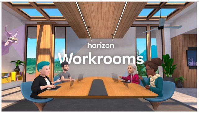 Facebook adds Virtual Reality to its Horizon Workrooms Meeting