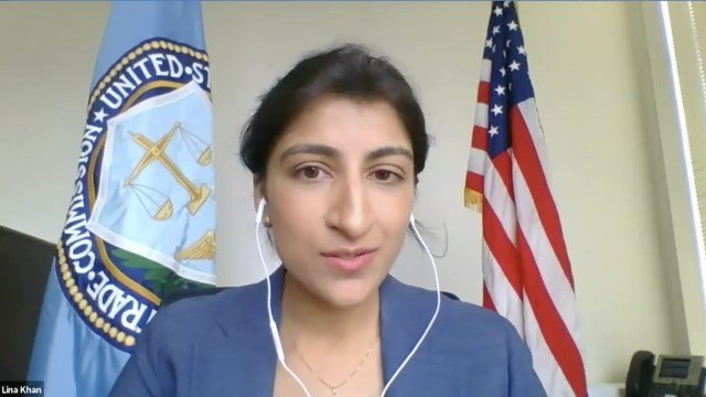 Lina Khan is an antitrust researcher and head of the Federal Trade Commission (FTC) in US
