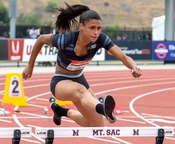 Sydney McLaughlin is silver medalist at the 2019 World Championships in the 400m hurdles