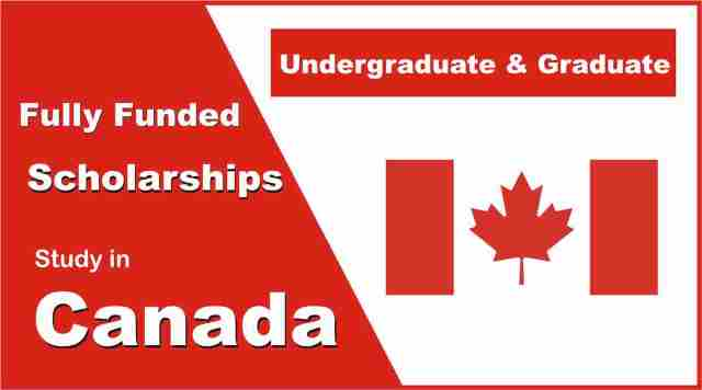 Most Popular Scholarships in Canada 2021/2022 for International Students