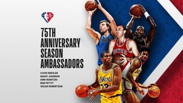 Twitter reacts to first 25 players named to NBA 75 – 75 Basketball Legends of all time